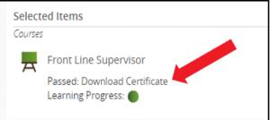 CPKN Course Certificate